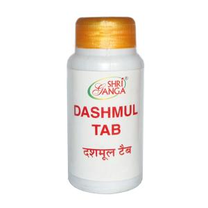 Дашамула Шри Ганга (Dashmul Shri Ganga), 100 таблеток
