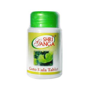 Готу Кола Шри Ганга (Goto Kula Shri Ganga), 100 таблеток