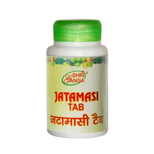 Джатаманси Шри Ганга (Jatamansi Shri Ganga), 60 таблеток