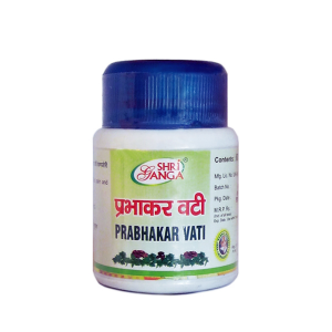 Прабхакар Вати Шри Ганга (Prabhakar Vati Shri Ganga), 60 таблеток