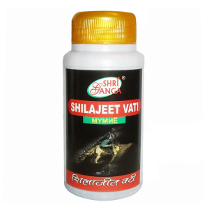 мумиё Шиладжит Вати Шри Ганга (Shilajeet Vati Shri Ganga), 300 таблеток