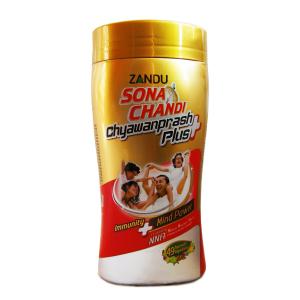 Чаванпраш Сона Чанди Плюс (Himani Sona Chandi Chyawanprash Plus), 10 банок по 450 гр.