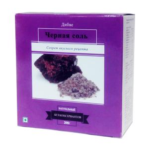 Чёрная соль Дибве (Divye Black Salt), 200 гр