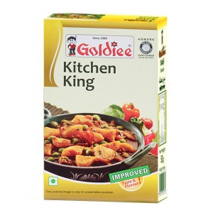 смесь специй универсальная Китчен кинг масала (Kitchen King masala Goldiee), 100 гр.