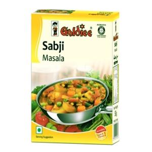 специи для овощных блюд Сабджи масала Голди (Sabji masala Goldiee), 100 гр.