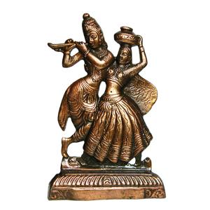 статуэтка Радха и Кришна