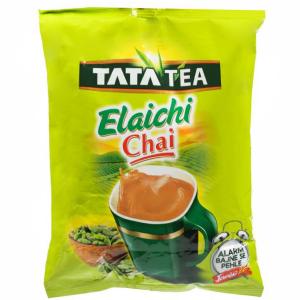 премиальный чёрный чай Ассам с добавлением Кардамона Tata Elaichi Chai, 250 грамм