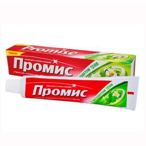 зубная паста Dabur Promise с экстрактом трав, 100 гр.