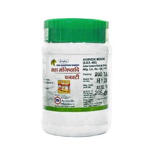 Маха Манжиштади Гханвати (Maha Manjishthadi Ghanvati, Unjha), 60 таблеток