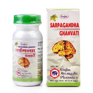 Сарпагандха гханвати (Sarpagandha ghanvati), 40 таблеток