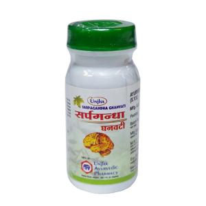 Сарпагандха Гханвати (Sarpagandha Ghanvati Unjha), 30 таблеток