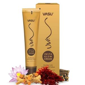 Омолаживающий крем для лица c маслом кумкумади Васу Инста Глоу (Vasu UVA Insta Glow Cream), 50 мл.