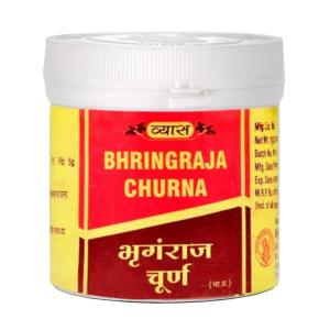 Брингарадж порошок Вьяс (Bhringraja churna Vyas), 100 грамм