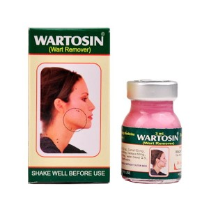 средство для удаления бородавок Вартосин (Wartosin), 3 мл.