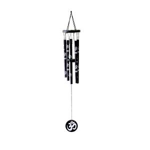 музыка ветра 5 трубочек (знак ом) малая, высота 45 см.