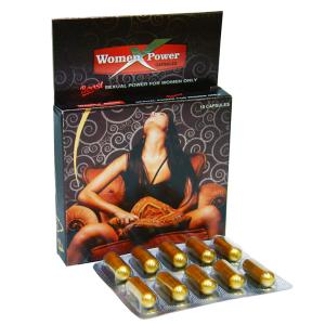 Сексуальная сила для женщин (Women X Power Capsule), 10 капсул