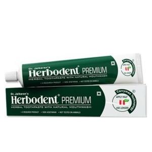 зубная паста Хербодент Премиум (Herbodent Premium Herbal, Dr.Jaikaran), 100 грамм