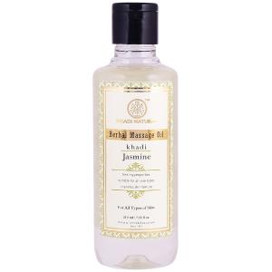 Массажное масло Жасмин Кхади (Jasmine Herbal Massage Oil Khadi), 210 мл