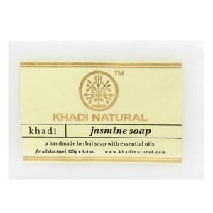 Натуральное мыло Кхади Жасмин (Khadi Jasmine Soap), 125 грамм
