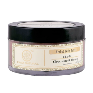 Крем Шоколад и Мёд Кхади (Chocolate & Honey Herbal Body Butter Khadi), 50 грамм