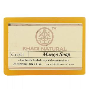 Натуральное мыло Кхади Манго (Khadi Mango Soap), 125 грамм