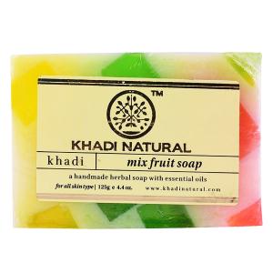Натуральное мыло Кхади Фруктовый Микс (Khadi Miх Fruit Soap), 125 грамм