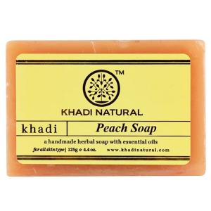 Натуральное мыло Кхади с экстрактом Персика (Khadi Peach Soap), 125 грамм
