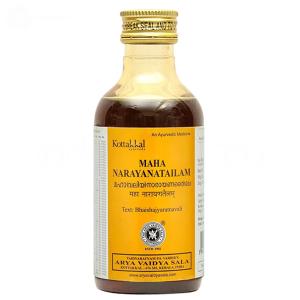 массажное масло Маха Нараяна Тайлам (Maha Narayanatailam Kottakkal), 200 мл.