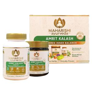 Амрит Калаш Махариши, (600 г паста МАК-4 + 60 таб. МАК-5), Amrit Kalash Maharishi Ayurveda (Антиоксидант)