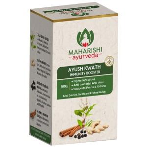 Аюш Кватх Махариши Аюрведа (Ayush Kwath Immunity Booster Maharishi Ayurveda), 100 грамм