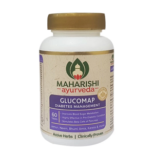 Глюкомап Махариши Аюрведа (Glucomap Maharishi Ayurveda), 60 таблеток