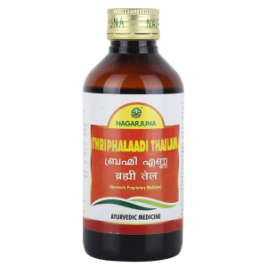масло Трифалади Нагарджуна (Thriphalaadi Thailam Nagarjuna), 200 мл