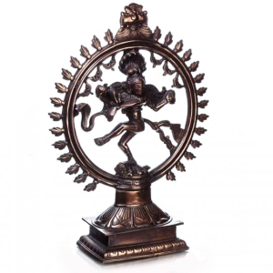 статуэтка Шива Натарадж, силумин 47 см