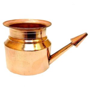 чайник для промывания носа Нети Пот, медь