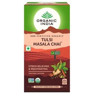 Чай органический из Тулси с Масалой Organic India, 25 пакетиков