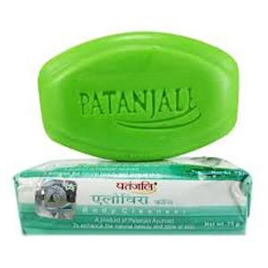 Натуральное мыло Патанджали Алое Вера (Kanti Aloe Vera Patanjali), 75 гр