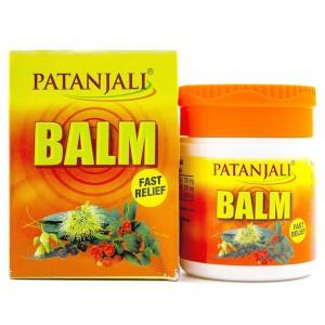 бальзам Патанджали Балм болеутоляющий (Balm Fast Relief Patanjali), 25 грамм