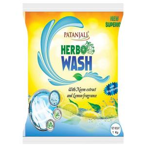 Натуральный гипоаллергенный стиральный порошок с Нимом и Лимоном Патанджали, 1 кг