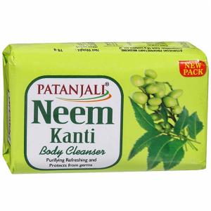 Натуральное мыло Патанджали с Нимом (Neem Patanjali), 150 гр