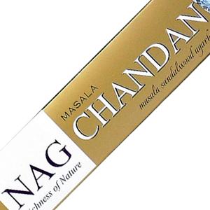 масальные ароматические палочки Нагчампа Сандал (Nag Chandan Ppure), 15 гр.