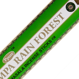 масальные ароматические палочки Тропический Лес (Rain Forest Ppure), 15 грамм