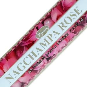 масальные ароматические палочки Роза (Rose Ppure), 15 гр.