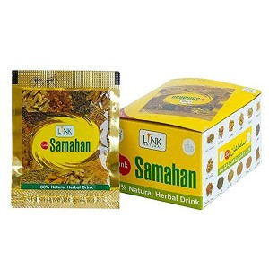 Травяной аюрведический напиток Самахан (Samahan, Link Natural), 10 пакетов по 4 грамма
