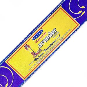 благовония Лаванда Сатья (Natural Lavander Satya), 15 гр.