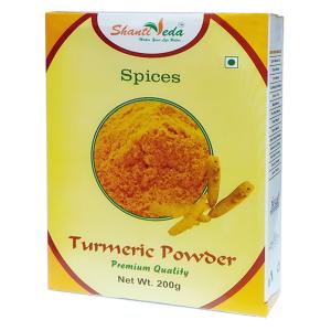 Куркума молотая Шанти Веда (Turmeric Powder Shanti Veda), 200 гр.