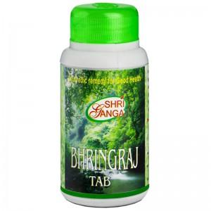 Брингарадж Шри Ганга (Bhringraj tab Shri Ganga), 200 таблеток