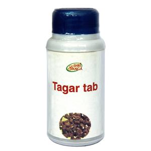 Тагара Шри Ганга (Tagar Shri Ganga), 120 таблеток