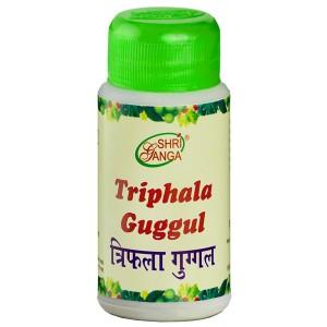 Трифала Гуггул Шри Ганга (Triphala Guggul Shri Ganga), 100 грамм