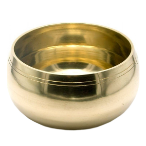 Поющая чаша литая для восстановления ауры сплав 7 металлов, 10 см