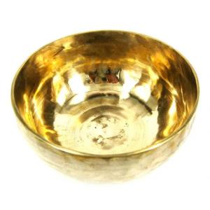 Поющая чаша ручная ковка лечебная 8 металлов, 12 см
